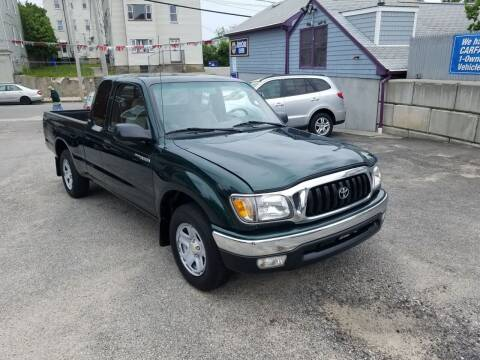 2002 Toyota Tacoma for sale at Fortier's Auto Sales & Svc in Fall River MA