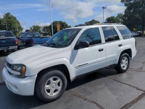 2002 Chevrolet TrailBlazer for sale at West Point Auto Sales in Mattawan MI