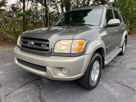 2004 Toyota Sequoia for sale at Lenoir Auto in Lenoir NC