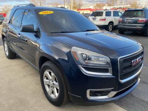 2015 GMC Acadia for sale at Huggins Auto Sales in Ottawa OH