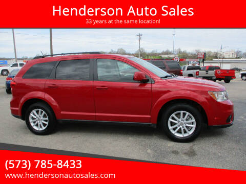 2016 Dodge Journey for sale at Henderson Auto Sales in Poplar Bluff MO