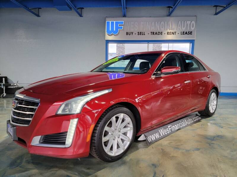 2015 Cadillac CTS for sale at Wes Financial Auto in Dearborn Heights MI