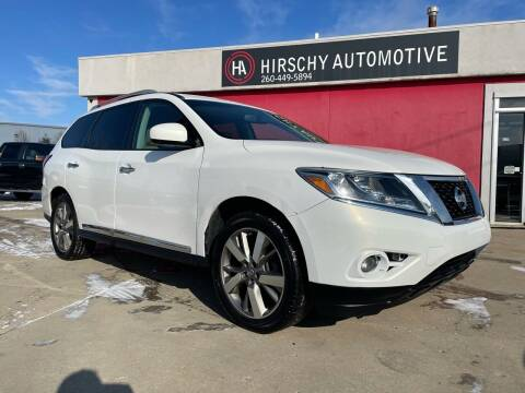 2013 Nissan Pathfinder for sale at Hirschy Automotive in Fort Wayne IN
