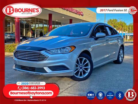 2017 Ford Fusion for sale at Bourne's Auto Center in Daytona Beach FL
