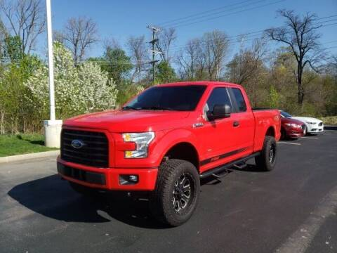 2017 Ford F-150 for sale at White's Honda Toyota of Lima in Lima OH