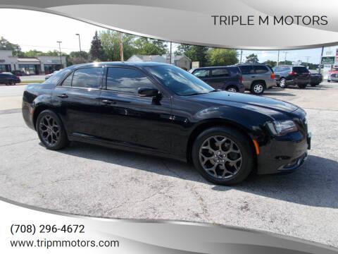 2018 Chrysler 300 for sale at Triple M Motors in Saint John IN