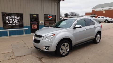 2014 Chevrolet Equinox for sale at Mid Kansas Auto Sales in Pratt KS