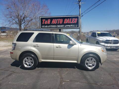 2010 Mercury Mariner for sale at T & G Auto Sales in Florence AL