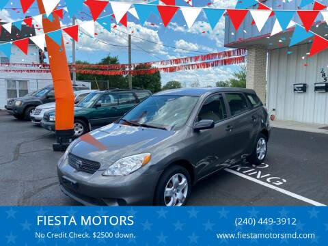 2005 Toyota Matrix for sale at FIESTA MOTORS in Hagerstown MD