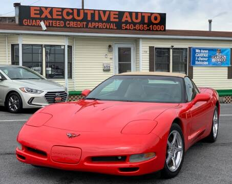 2001 Chevrolet Corvette for sale at Executive Auto in Winchester VA