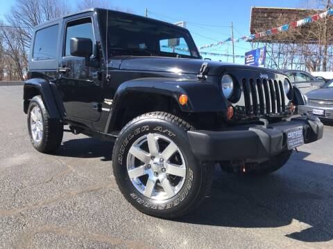 2010 Jeep Wrangler for sale at Certified Auto Exchange in Keyport NJ