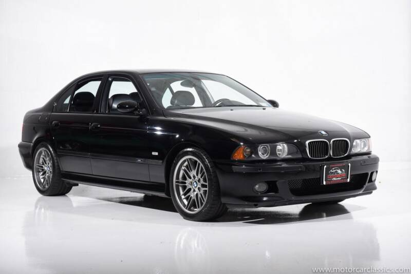 2002 BMW M5 for sale at Motorcar Classics in Farmingdale NY