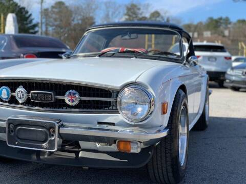 1975 Triumph TR6 for sale at Atlanta Fine Cars in Jonesboro GA