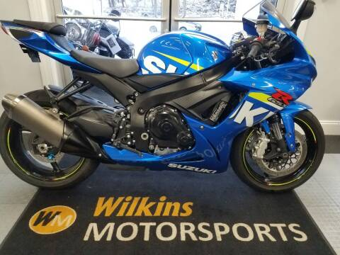 2015 Suzuki GSX-R600 for sale at WILKINS MOTORSPORTS in Brewster NY