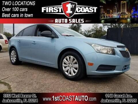 2011 Chevrolet Cruze for sale at 1st Coast Auto -Cassat Avenue in Jacksonville FL