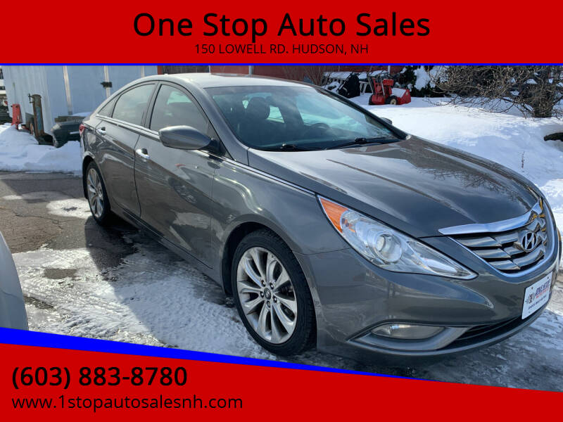 2013 Hyundai Sonata for sale at One Stop Auto Sales in Hudson NH