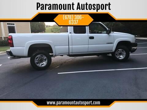 2006 Chevrolet Silverado 2500HD for sale at Paramount Autosport in Kennesaw GA