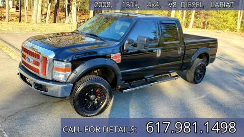2008 Ford F-250 Super Duty for sale at Wheeler Dealer Inc. in Acton MA