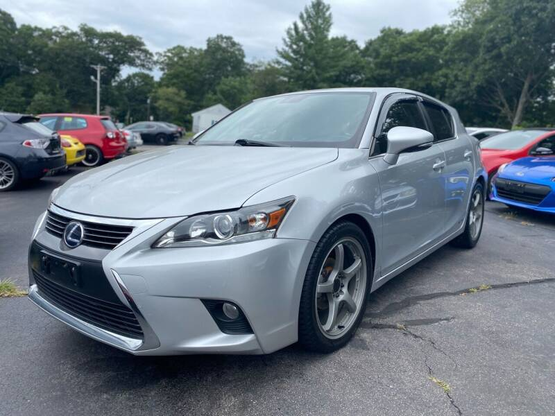 2016 Lexus CT 200h for sale at SOUTH SHORE AUTO GALLERY, INC. in Abington MA