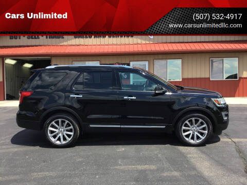 2017 Ford Explorer for sale at Cars Unlimited in Marshall MN