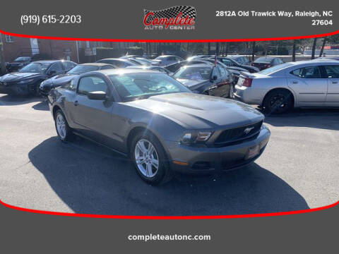 2011 Ford Mustang for sale at Complete Auto Center , Inc in Raleigh NC