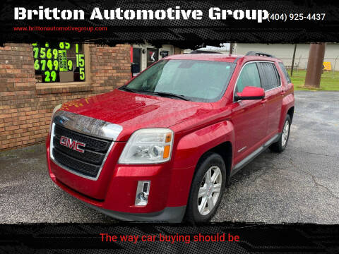 2014 GMC Terrain for sale at Britton Automotive Group in Loganville GA