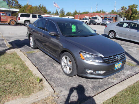 2013 Volkswagen Passat for sale at Governor Motor Co in Jefferson City MO