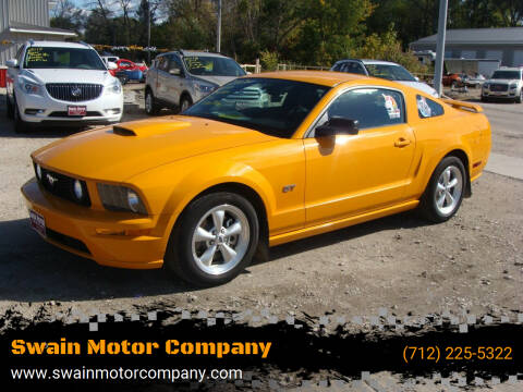 2007 Ford Mustang for sale at Swain Motor Company in Cherokee IA
