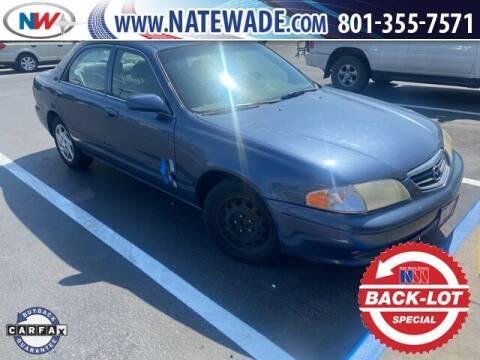 2002 Mazda 626 for sale at NATE WADE SUBARU in Salt Lake City UT