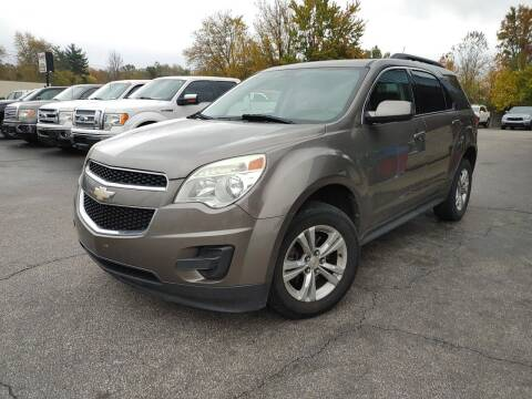 2011 Chevrolet Equinox for sale at Cruisin' Auto Sales in Madison IN