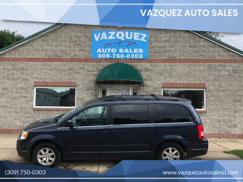 2008 Chrysler Town and Country for sale at VAZQUEZ AUTO SALES in Bloomington IL