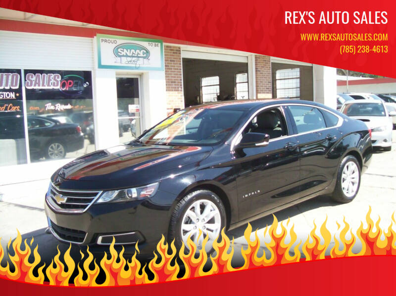 2016 Chevrolet Impala for sale at Rex's Auto Sales in Junction City KS