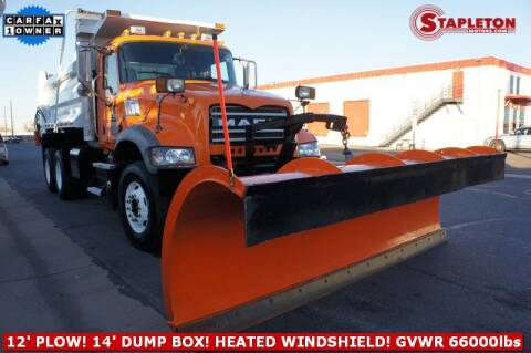 2010 Mack Granite for sale at STAPLETON MOTORS in Commerce City CO