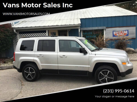 2012 Jeep Patriot for sale at Vans Motor Sales Inc in Traverse City MI