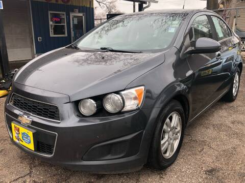 2013 Chevrolet Sonic for sale at El Tucanazo Auto Sales in Grand Island NE