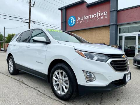2020 Chevrolet Equinox for sale at Automotive Solutions in Louisville KY