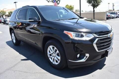 2018 Chevrolet Traverse for sale at DIAMOND VALLEY HONDA in Hemet CA