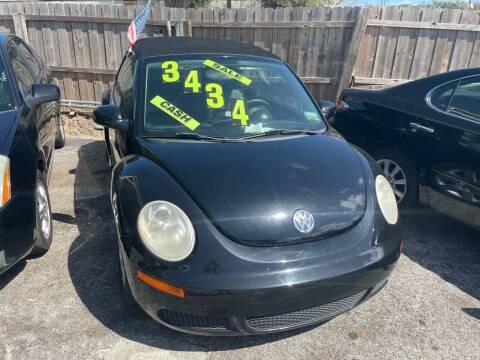 2007 Volkswagen New Beetle Convertible for sale at Louie's Auto Sales in Leesburg FL