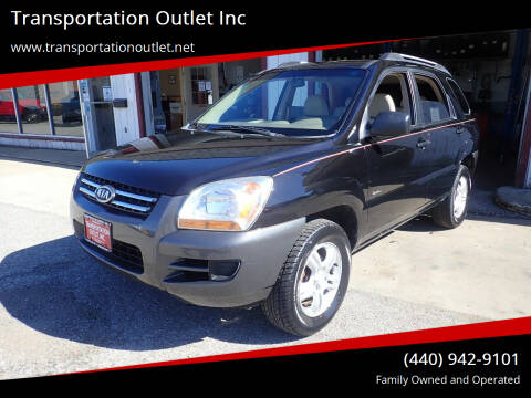 2006 Kia Sportage for sale at Transportation Outlet Inc in Eastlake OH