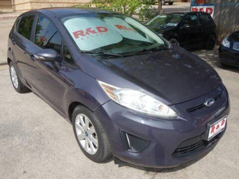 2013 Ford Fiesta for sale at R & D Motors in Austin TX