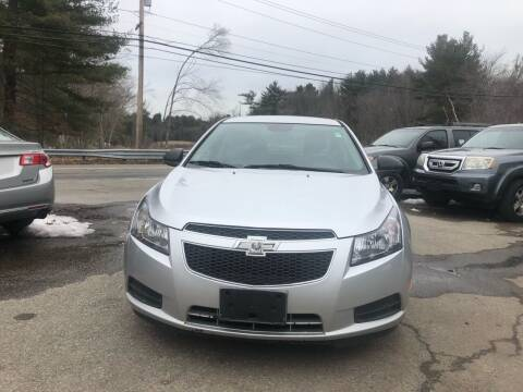 2014 Chevrolet Cruze for sale at Royal Crest Motors in Haverhill MA