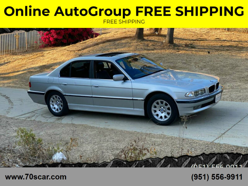 2001 BMW 7 Series for sale at Online AutoGroup FREE SHIPPING in Riverside CA