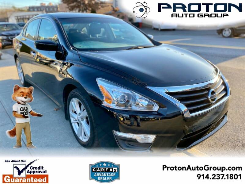 2013 Nissan Altima for sale at Proton Auto Group in Yonkers NY