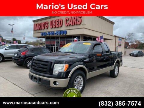 2009 Ford F-150 for sale at Mario's Used Cars in Houston TX