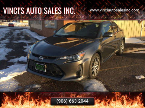 2014 Scion tC for sale at Vinci's Auto Sales Inc. in Bessemer MI
