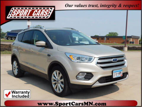 2017 Ford Escape for sale at SPORT CARS in Norwood MN