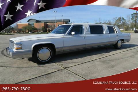 1990 Cadillac Brougham for sale at Louisiana Truck Source, LLC in Houma LA