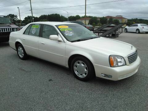 2000 Cadillac DeVille for sale at Kelly & Kelly Supermarket of Cars in Fayetteville NC