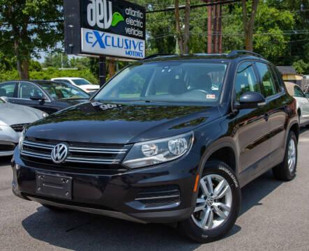 2016 Volkswagen Tiguan for sale at EXCLUSIVE MOTORS in Virginia Beach VA