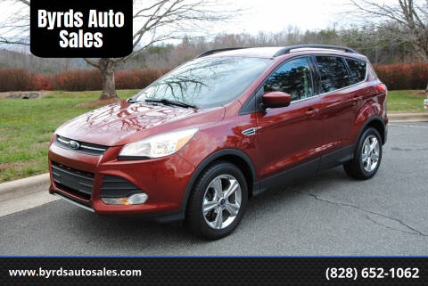 2016 Ford Escape for sale at Byrds Auto Sales in Marion NC